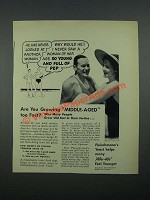 1938 Fleischmann's Yeast Ad - He Has Never Looked at Another Woman
