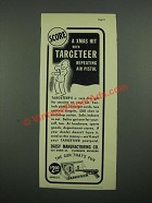 1938 Daisy Targeteer Air Pistol Ad - Score a Xmas Hit With Targeteer
