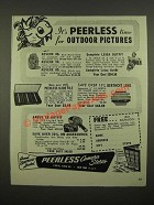 1947 Peerless Camera Stores Ad - Revere, Leica and Argus Cameras