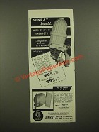 1947 Sunray Arnold Model D Enlarger Ad