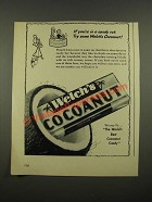 1948 Welch's Cocoanut Candy Ad - If You're in a Candy Rut
