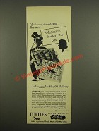 1948 DeMet's Turtles Candy Ad - Distinctive Mother's Day Gift