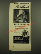 1948 Wollensak Lenses and Shutters Ad - Your Photography
