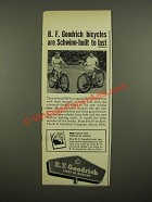 1948 B.F. Goodrich Schwinn Bicycles Ad - To Last