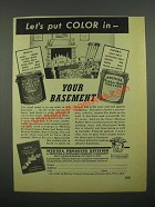 1949 Medusa Portland Cement Paint and Rubber Base Coating Ad