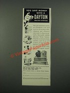 1949 Dayton Water System Ad - You Save Money With