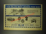 1964 John Blue Insecticide and Fertilizer Application Equipment Ad