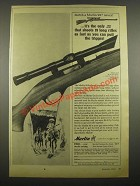 1964 Marlin 99-C Rifle Ad - Shoots as Fast As You Can Pull the Trigger