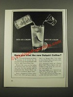 1964 Puerto Rican Rums Ad - Tastes Like a Daiquiri Cools Like a Collins