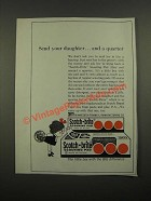 1964 3M Scotch-Brite Scouring Pad Ad - Send Your Daughter and a Quarter
