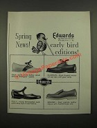 1964 Edwards Shoes Ad - Bala, Polly, Guardian and Mohawk