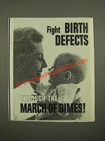 1964 March of Dimes Ad - Fight Birth Defects