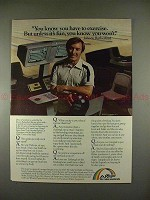 1979 AMF Bowling Ad w/ Johnny Rutherford - Exercise!!