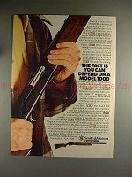 1982 Smith & Wesson Model 1000 Shotgun Ad - You Depend!