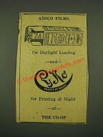 1915 Ansco Film Ad - For Daylight Loading