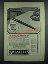 1919 Sheaffer's No. 5 Pen and Sharp-point Pencil Ad