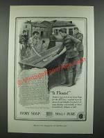 1919 Ivory Soap Ad - It Floats!