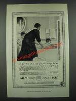 1919 Ivory Soap Ad - Bath Is Really Good Fun