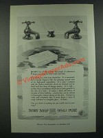 1919 Ivory Soap Ad - People of Refinement Desire