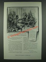 1919 Ivory Soap Ad - Picture and Letter of Doughboys in Army of Occupation