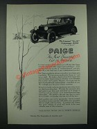 1919 Paige Linwood Six-39 5-Passenger Car Ad