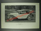 1919 Locomobile Gunboat Roadster Ad