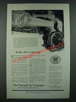 1919 The National City Company Ad - Bonds How to Choose Them