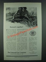 1919 The National City Company Ad - Forward Together