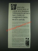 1987 Wella So Fine Shampoo Mist Ad - The Honest Story