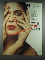 1987 Almay Hypo-Allergenic Cosmetics Ad - Almay's Got Nothing