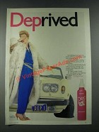 1987 Dep Sculpt & Hold Ad - Deprived