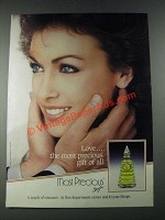 1987 Evyan Most Precious Perfume Ad - Love