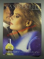 1987 Vanderbilt by Gloria Vanderbilt Perfume Ad - Let it Release