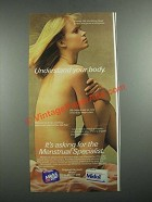 1987 Midol and Midol 200 Medicine Ad - Understand Your Body