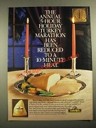 1987 Louis Rich Breast of Turkey Ad - The 5-Hour Holiday Marathon