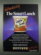 1987 Kraft Light n' Lively Yogurt Ad - The Smart Lunch