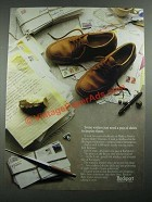 1987 Rockport Shoes Ad - Some Writers Just Need a Pair of Shoes to Inspire
