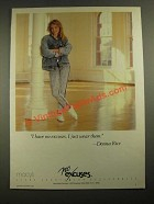 1987 No Excuses Jeans Ad - Donna Rice