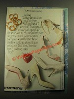 1987 Candie's Shoes Ad - My Micro Mini and Sexy High Heels