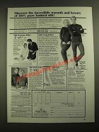 1987 WinterSilks Ad - Kimono Robe, Long Johns, Turtlenecks, Sock Liners