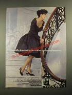 1987 L'eggs Sheer Elegance Silky Support Pantyhose Ad - Legs Feel Better