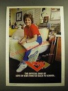 1987 Pony Shoes Ad - Mary Lou Retton - Go Back to School