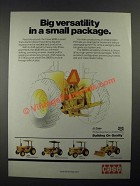 1987 Case 380B Tractor Ad - Big Versatility in a Small Package