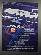 1987 Ford Engines Ad - Gasoline, Dry Fuel and Diesel