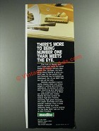 1987 Medite MDF Medium Density Fiberboard Ad - More to Being Number One