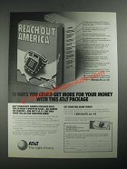 1987 AT&T Reach Out America Long Distance Ad - Get More For Your Money