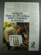 1987 AT&T Unified Messaging Ad - 250 Million More Computers