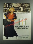 1987 Virginia Slims Cigarettes Ad - Colorado Kelli Really Cleaned Up