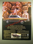 1987 Chrysler New Yorker Ad - Turbo-Charged Power