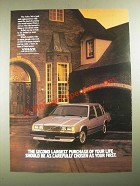 1987 Volvo 740 Ad - The Second Largest Purchase of Your Life